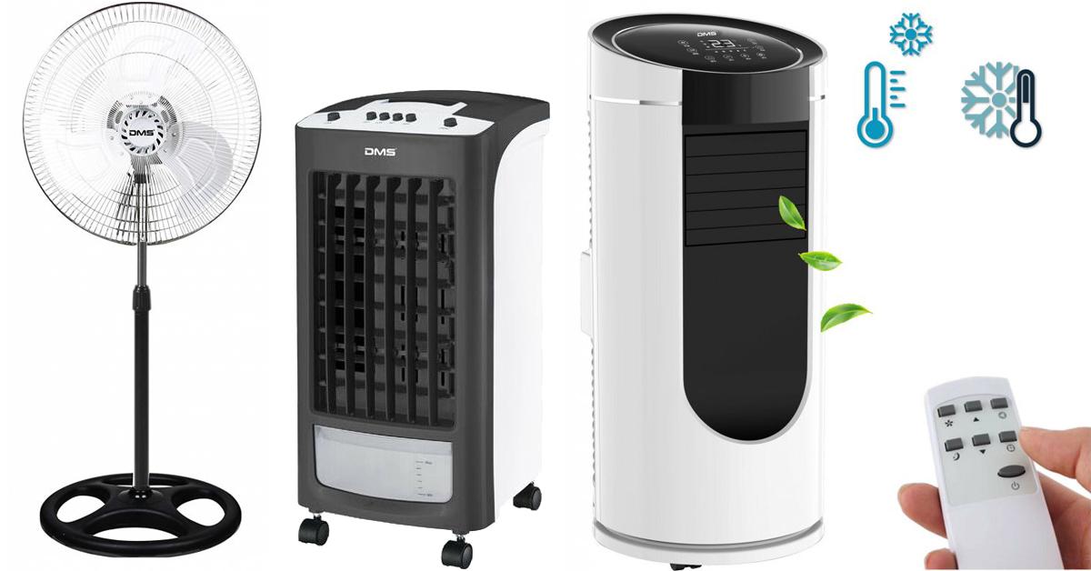 Ventilátory, ochlazovače a klimatizace - Čím se letos necháte zchladit vy?