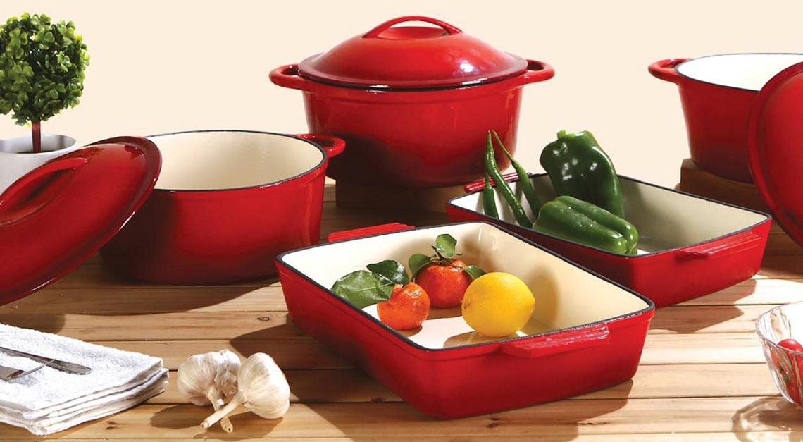 Objevte opravdové výhody litinového nádobí