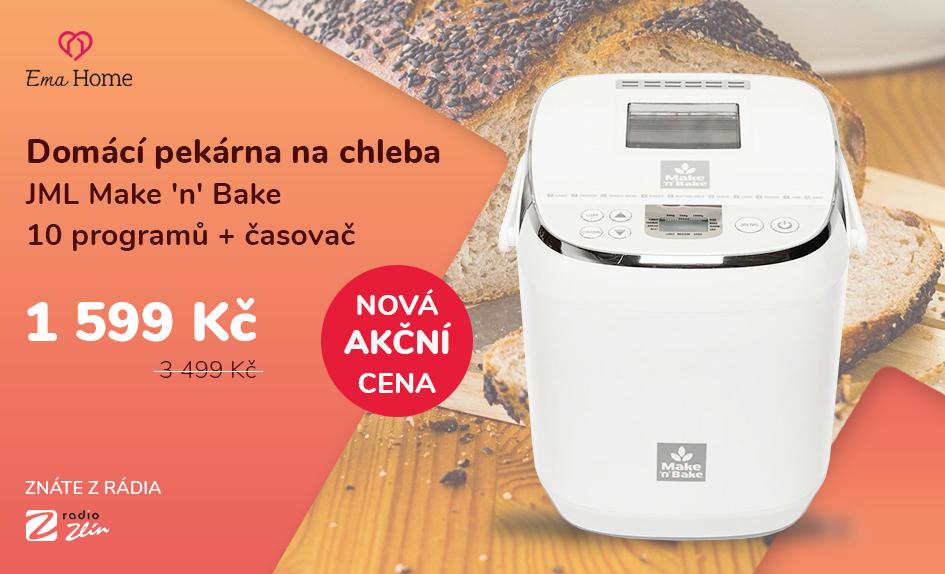 Domácí pekárna na chleba JML Make 'n' Bake