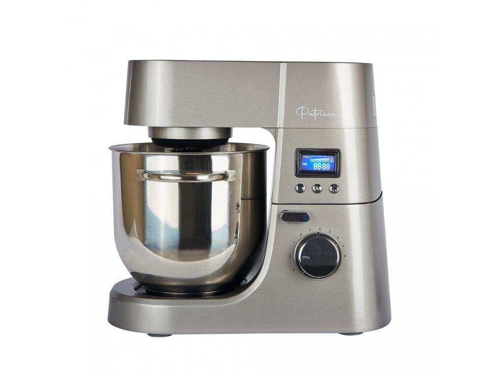 Celokovový multifunkční kuchyňský robot Patricca KRR-144S / stříbrný