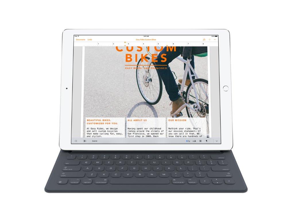 """Pouzdro na tablet s klávesnicí Apple Smart iPad Pro 12.9"""" US - černé"""