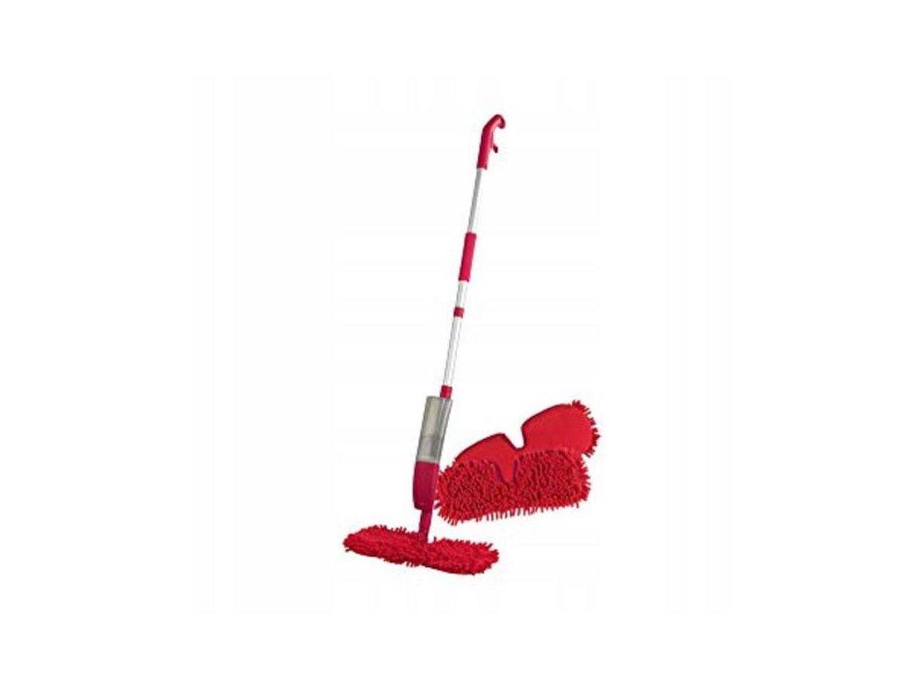 Mop s rozprašovačem CLEANmaxx Spray-Mopp/ červený