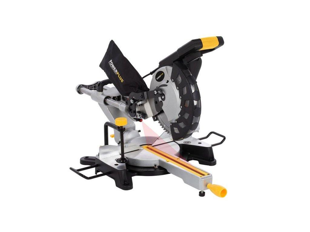 Pokosová pila Powerplus POWX07569S / Teleskopická pila 2000W 254 mm