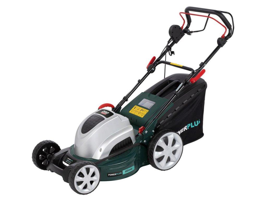 Sekačka na trávu POWPG10260 POWERPLUS / Sekačka 1800W na vlastní pohon
