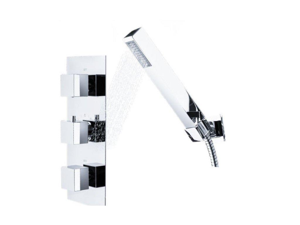 Sprchová baterie REA Brito - stříbrná