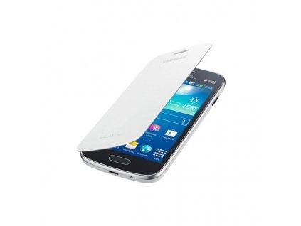 Flipové pouzdro Samsung Capa pro Samsung Galaxy Ace 3 S7275 White