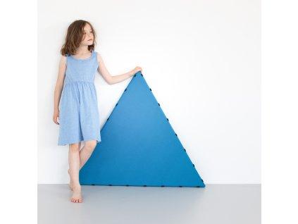 Skládací pěnové puzzle Tukluk / modrá