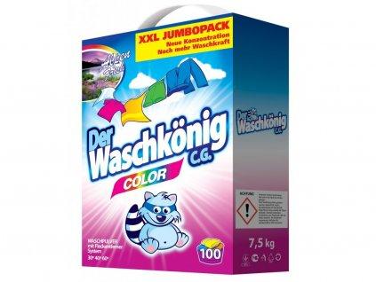 Waschkönig Color Prášek na praní XXL 100 Pracích cyklů