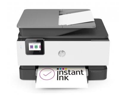 Tiskárna HP OfficeJet Pro 9010 / šedá / bílá / POŠKOZENÝ OBAL