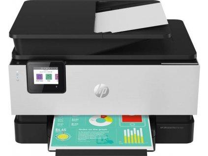 Tiskárna HP OfficeJet Pro 9019 / bílá / černá / POŠKOZENÝ OBAL
