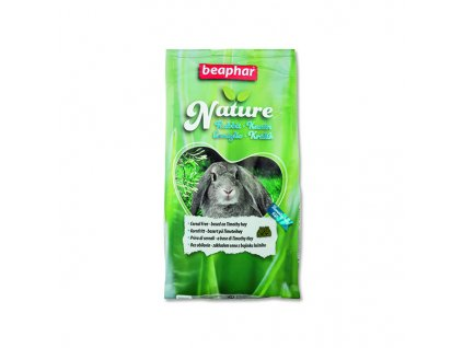 Krmivo pro králíky Beaphar Nature Rabbit 1,25kg / POŠKOZENÝ OBAL