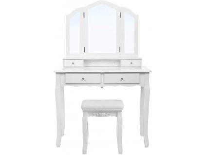 Toaletní stolek RDT07W / bílá