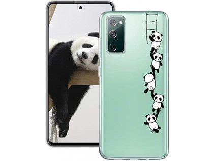 Kryt na mobilní telefon Samsung Galaxy S20 FE / průhledný / zadní kryt