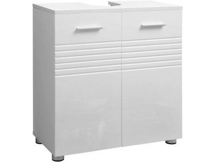 Koupelnová skříňka pod umyvadlo BBK01WT / bílá