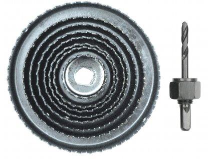 Vorel vrtáky vyřezávací miskové / 38 - 127 mm / sada 9 dílů