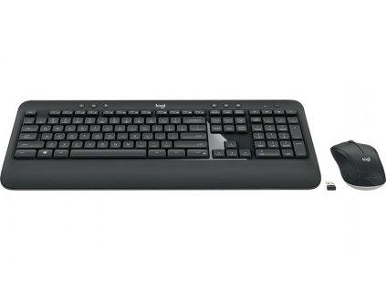 Klávesnice s myší Logitech Wireless Combo MK540 Advanced / černá