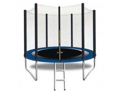 DMS Zahradní trampolína / modrá / průměr 244cm