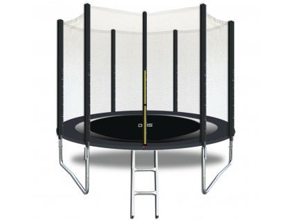 DMS Zahradní trampolína / šedá / průměr 305 cm