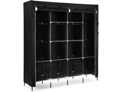 Šatní skříň RYG44H / černá