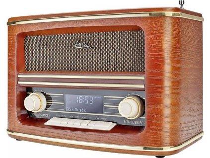 Digitální nostalgické rádio Dual NR 1 DAB / dřevo