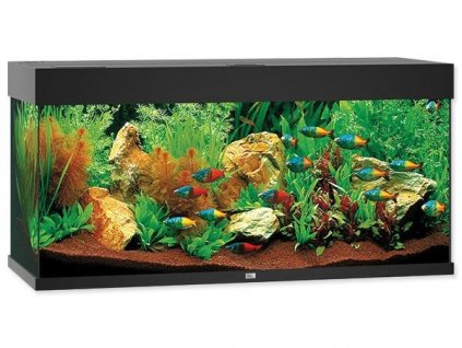 Akvárium set JUWEL Rio LED 180 černé 180l