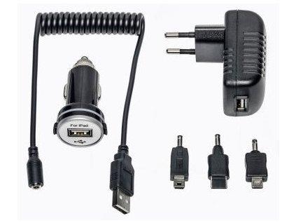 Cestovní set nabíječky a autonabíječky MEDION® LIFE® MD 84217 / 2.1 A / 3x adaptér