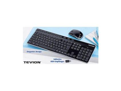 Set myš + klávesnice Tevion MD86360 / černá