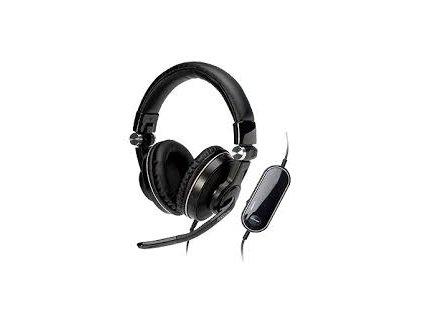 Skládací sluchátka Medion Erazer MD 86322 / integrovaná zvuková karta