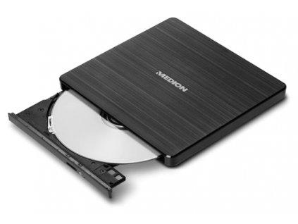 Externí DVD vypalovačka MEDION® / DVD USB 2.0 GP70N /