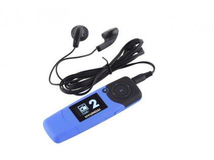 MP3 přehrávač Hyundai MP 366 GB4 FM BL - modrý