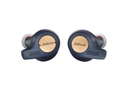 Sluchátka Jabra Elite 65t Active - modrá / měděná