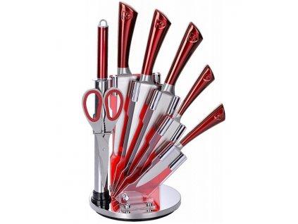 8-dílná sada ocelových nožů, nůžek a ocílky RL-KSS804