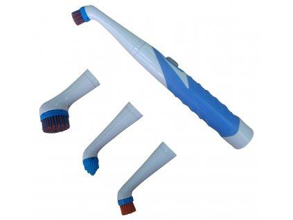 Cenocco CC9060 Sonický čistič se 4 kartáči- univerzální kartáčový čistič - oscilační čistič
