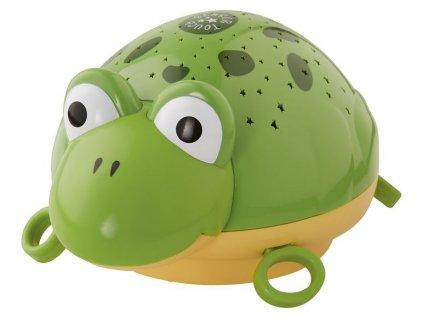 Dětská LED přenosná lampa - žába
