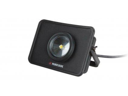 Dílenský LED reflektor / dvě zásuvky / 230V
