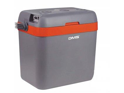 DMS Germany KB-33O chladící box / autochladnička / 33L / 12-24V / 220-240V / oranžová
