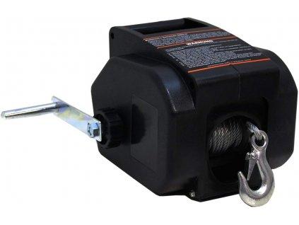 Elektrický lanový naviják DMS ESWB-01 / 12 V / 4990 kg / dálkový ovladač