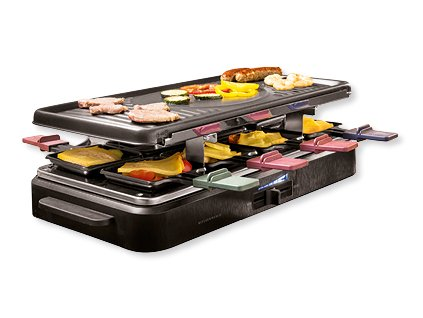 Elektrický raclette gril kitchenware 92763 - 1400 W