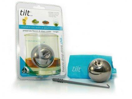 Chladící koule Tilt do nápojů a pokrmů