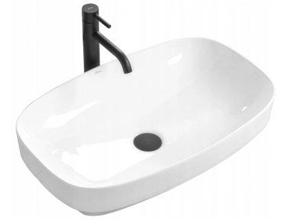 Keramické umyvadlo GIZEL 60 - Bílá