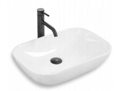 Keramické umyvadlo REA CLAUDIA 9447 - Bílá