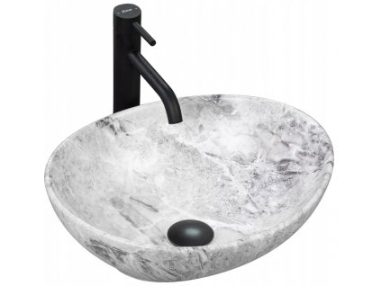 Keramické umyvadlo SOFIA - Kámen