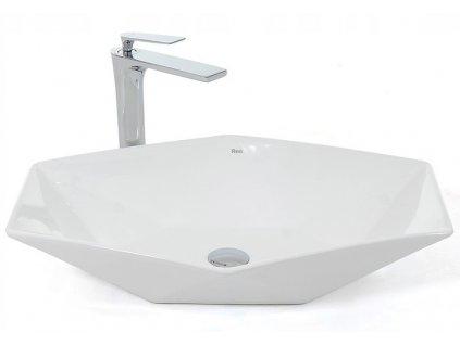 Keramické umyvadlo VEGAS - Bílá
