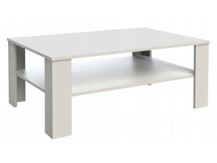 Konferenční stolek TINA MAX - bílý