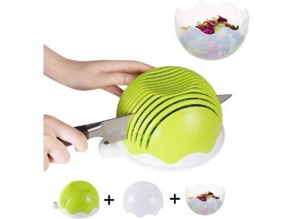 Kráječ na zeleninu a ovoce / Salátová mísa