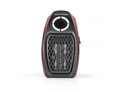 Mini topení EASYmaxx / 500W / černa/červená