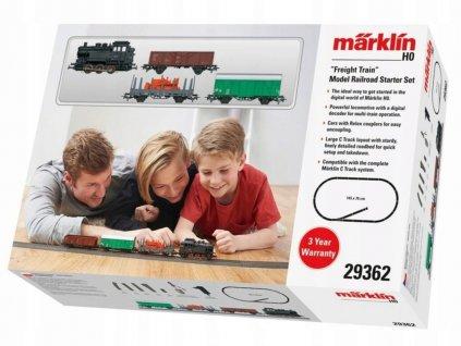 Model železniční startovací sady Märklin 29362 H0 / Nákladní vlak