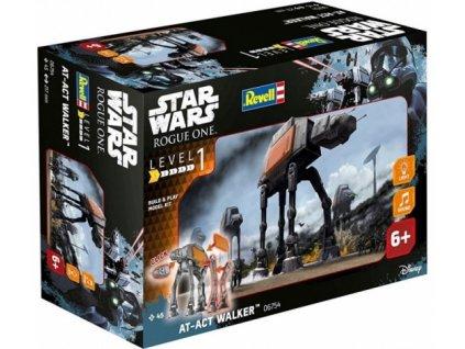 Modelová sada STAR WARS AT-ACT WALKER / 06578 / 1:100