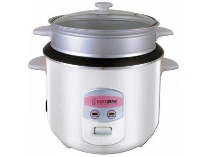 Multifunkční hrnec / vařič / rýžovar Herzberg HG8006: 900 W - 2,2 l