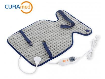 Nahřívací dečka CURAmed / Vyhřívaná podložka / bolest / záda / 100 W